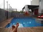 Radisson rooftop Pool