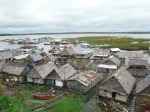 View of part of the Iquitos city area Amazon. I think that water front property here is not very expensive.